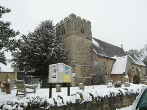 Wolvercote in Snow